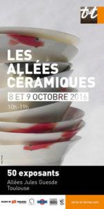 affiche 10 | Terre et Terres | Marché Toulouse | Les Allées Céramique à Toulouse les 8 et 9 octobre 2016 | Article | Terre et Terres | 1 novembre 2017