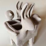 Sculpture dhilde Segers | Hilde Segers | Hilde Segers | Atelier | Terre et Terres | 14 janvier 2020