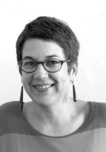 portrait nb | Céline Blanc | Céline Blanc | Atelier | Terre et Terres | 16 avril 2020