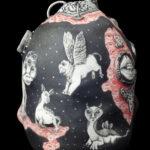 La Tour de Contrôle- Sculpture porcelaine