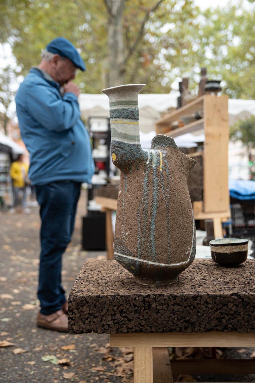 Allees ceramiques 2019 ChristoheDeBellefroid2 Photo JLogeay | Terre et Terres | Marché Toulouse | Les Allées Céramiques à Toulouse les 25 et 26 septembre 2021 | Article | Terre et Terres | 17 janvier 2021