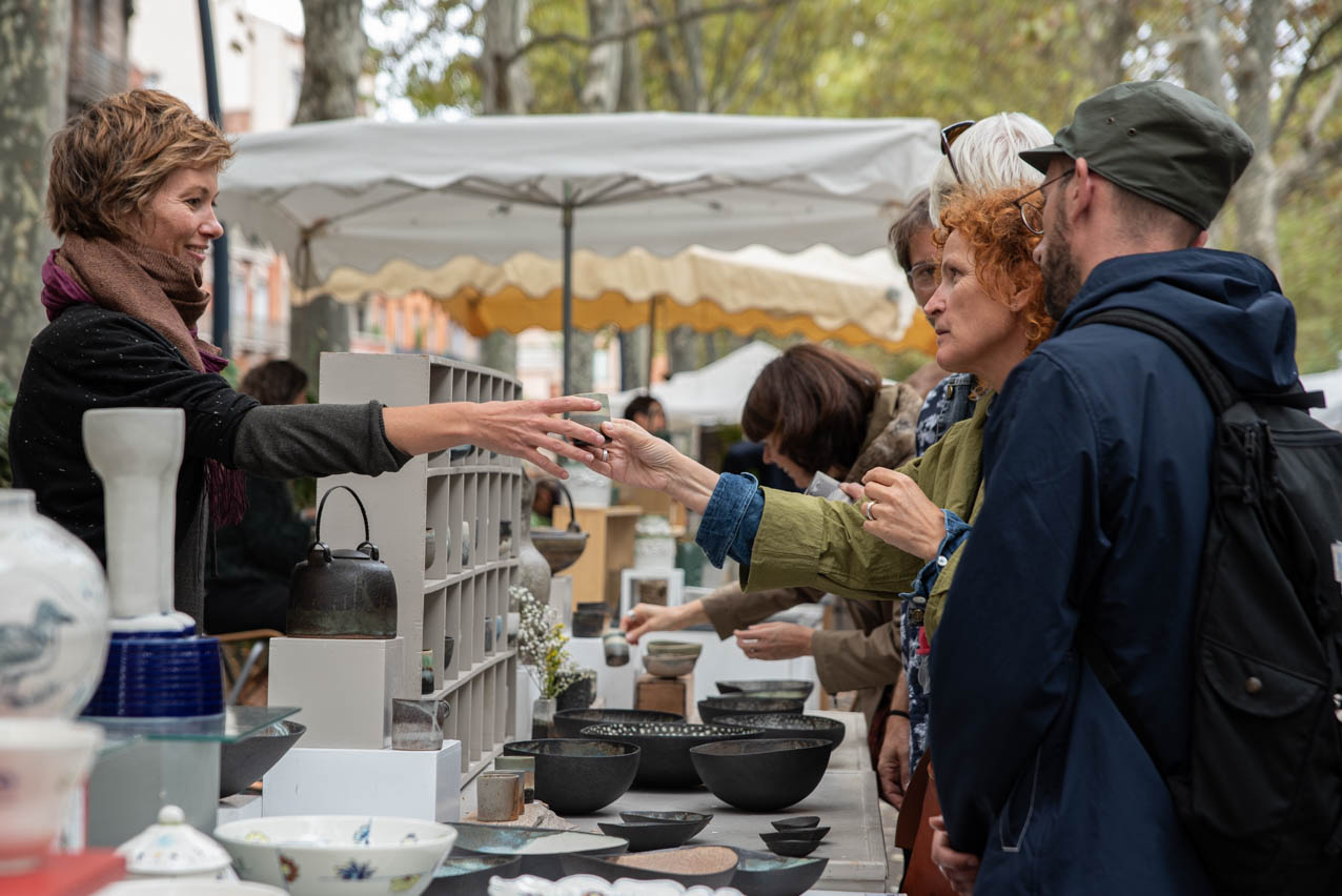 Allees ceramiques 2019 Stand CoralieSeigneur1 Photo JLogeay | Terre et Terres | Marché Toulouse | Les Allées Céramiques à Toulouse les 25 et 26 septembre 2021 | Article | Terre et Terres | 17 janvier 2021