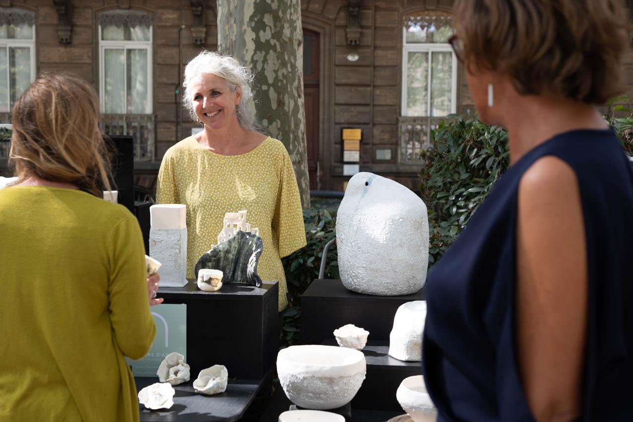 Allees ceramiques 2019 Stand FloreLoireau Photo JLogeay | Terre et Terres | Marché Toulouse | Les Allées Céramiques à Toulouse les 25 et 26 septembre 2021 | Article | Terre et Terres | 17 janvier 2021