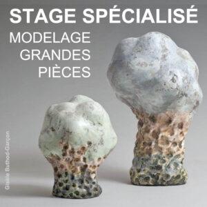 Visuel Stage Grandes Pieces 2020 | Terre et Terres | Stage Spécialisé | Stage Spécialisé Modelage Grandes Pièces de juin reporté au 14>18 septembre 2020 | Article | Terre et Terres | 27 avril 2020