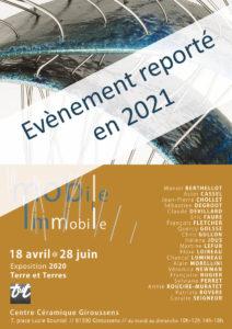 Exposition Mobile Immobile reportée en 2021