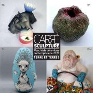 Visuel Carré Sculpture | Terre et Terres | Marché Giroussens | Marché Céramique Contemporaine Giroussens 5 et 6 juin 2021 | Article | Terre et Terres | 17 janvier 2021