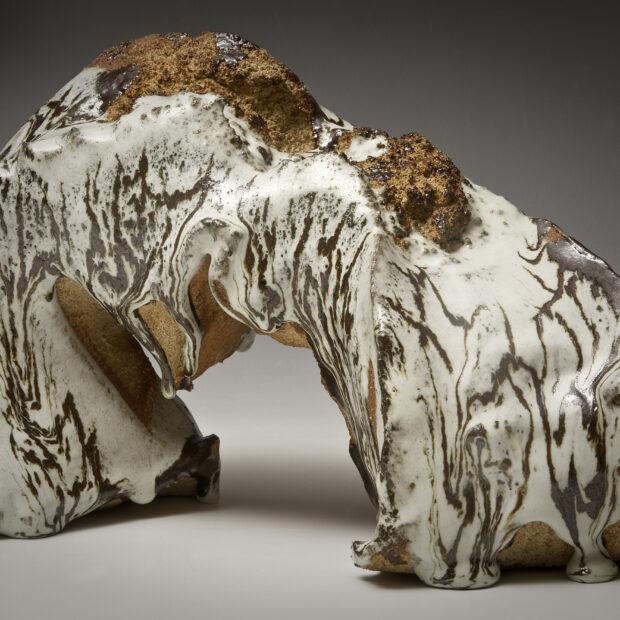 Arche 2 | Sylviane Perret | Arche blanche. I. | Produit | 65,00€ | 66646979 | Sculpture en grès gris - Petite 2 | Circaterra Céramique - Hilde Segers | Terre et Terres | 20 mars 2021