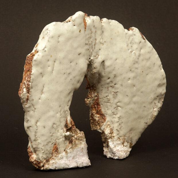 P 9776 | Sylviane Perret | Terre Cuite | Arche blanche. IV | Terre Cuite | Produit | Terre et Terres | 20 mars 2021