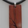 ChrisGullon collier 0090 | Chris Gullon | collier, perle en terre patinée | Produit | Terre et Terres | 17 décembre 2020