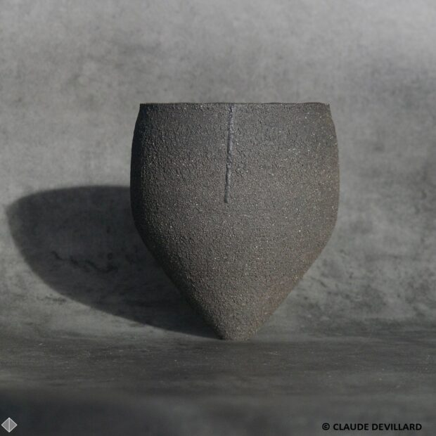 DEVILLARD pot toupie 4 b | Claude Devillard | Toupie 4 | Produit | 120,00€ | 38857665 | Double parois tourné. | atelier devillard | Terre et Terres | 19 décembre 2020