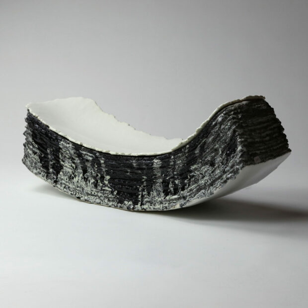 Entre2mondes 3 scaled | Eric Faure | Entre deux mondes | Produit | 685,00€ | 21797254 | Sculpture en grès porcelainique et porcelaine émaillés | Eric Faure | Terre et Terres | 20 décembre 2020