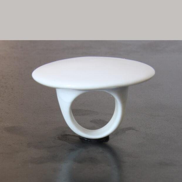 IMG 1879 | Violaine Ulmer | Décoratif | Bague plateau porcelaine | Décoratif | Produit | Terre et Terres | 10 décembre 2020