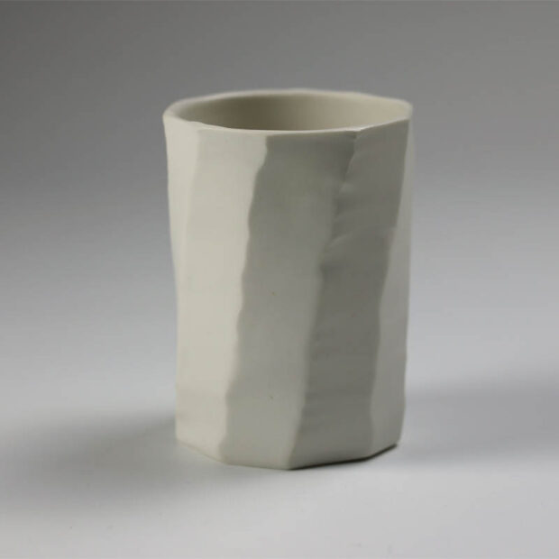 Gobelet H 1 | Eric Faure | test | Produit | 120,00€ | 72287241 | Sculpture en porcelaine émaillée | Eric Faure | Terre et Terres | 12 avril 2021