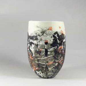 vase en porcelaine fine
