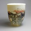 vase en porcelaine translucide